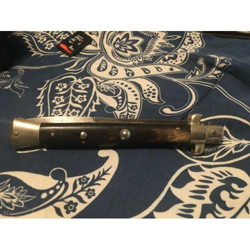 11 inch Omega Picklock Switchblade in beautiful shape