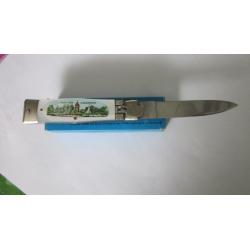 Vintage German lever lock souvenir knife