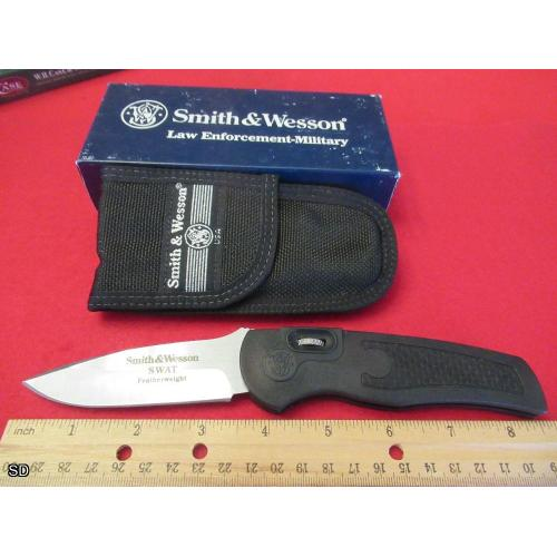 Rare Vintage 1990s Smith & Wesson Roll Lock Switchblade Knife