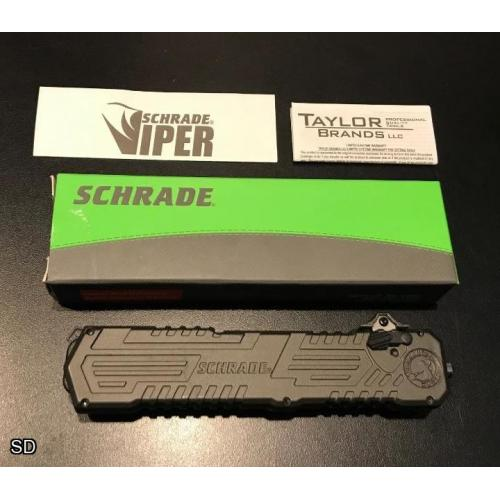 Mint - Schrade Viper 3 Single-Action OTF